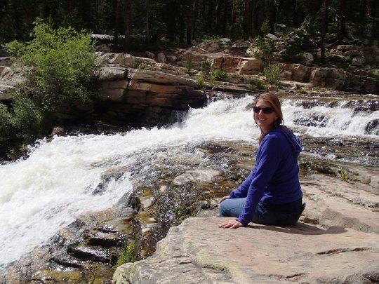 Val at Provo River Falls