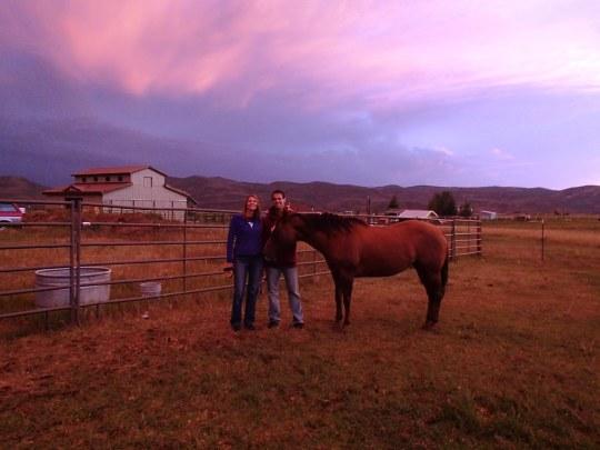 Oakley sunset