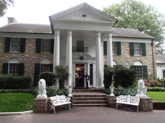 Graceland front of home