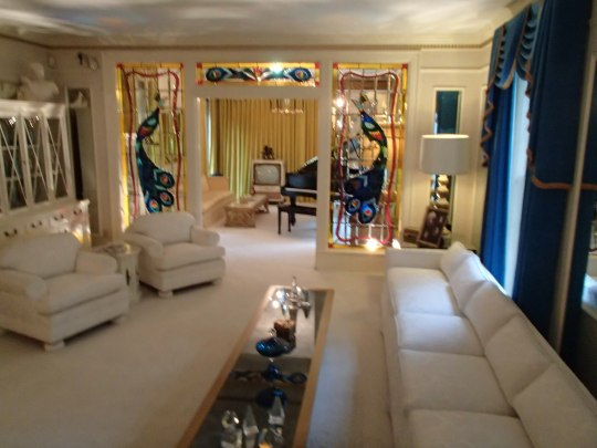 Elvis' living room