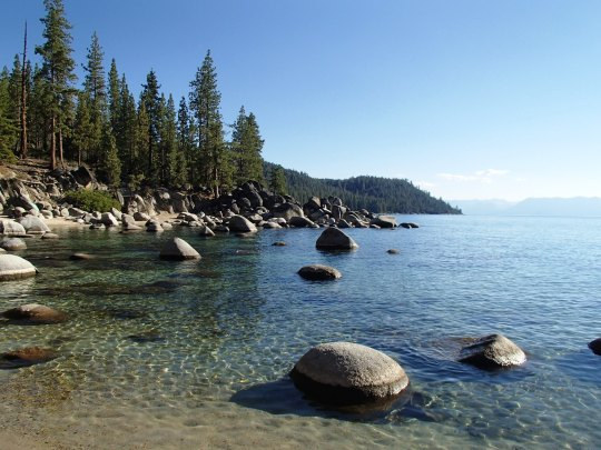 Lake Tahoe in August...ahhh! Such beauty!