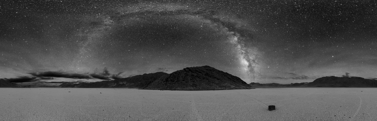 Death Valley Sky at night, over Racetrack Playa. Photo: Dan Duriscoe/ U.S. National Park Service.