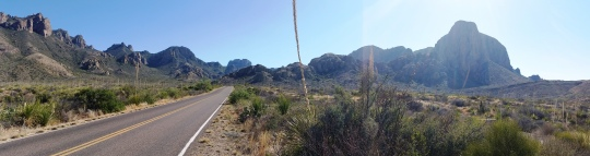 Chisos Mountains; (c) RVLuckyOrWhat.com