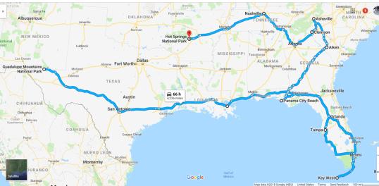 RV Trip 2019